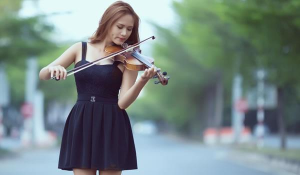 Musica Violino Mulher