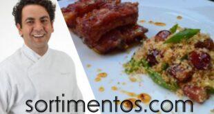 Receita de costelinha no mel e pimenta por chef Walner Sovi - sortimentos.com