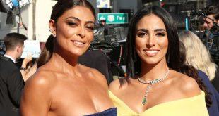 Juliana Paes e Jade Seba 46 AFI Life Achievement Award