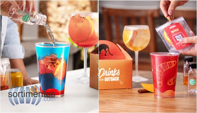 Do It Yourself - Kit  Completo para Drinks OutBack SteakHouse