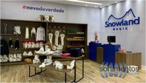 Loja Snowland Gramado no Aeroporto Salgado Filho em Porto Alegre