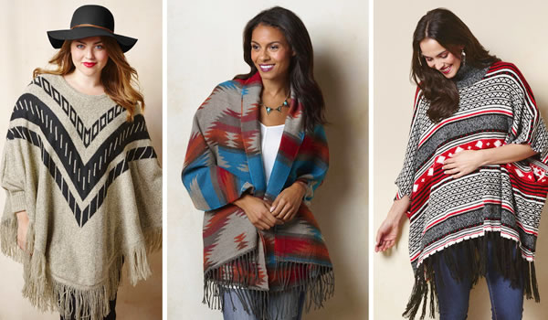 Ponchos - Looks da Moda Inverno 2021 - Dicas de Moda - Sortimentos.com