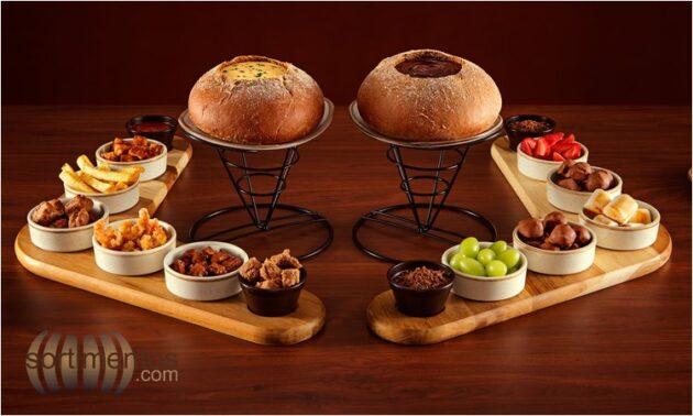Fondues do Outback Steakhouse em Porto Alegre - Sortimentos.com Gastronomia & Restaurantes