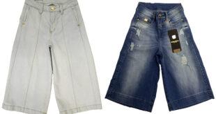 Moda Feminina - Calças da Moda - Calça Jeans Pantacourt - Sortimentos.com