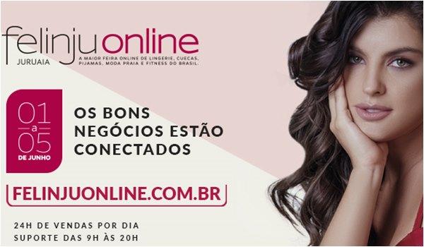 Felinju Online - Feira de Moda Intima em Juruaia