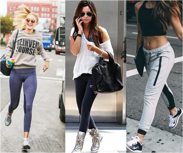 Dicas de Moda Feminina - Looks da Moda Fitness - Sortimentos.com