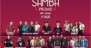 Live Samba Prime em Casa