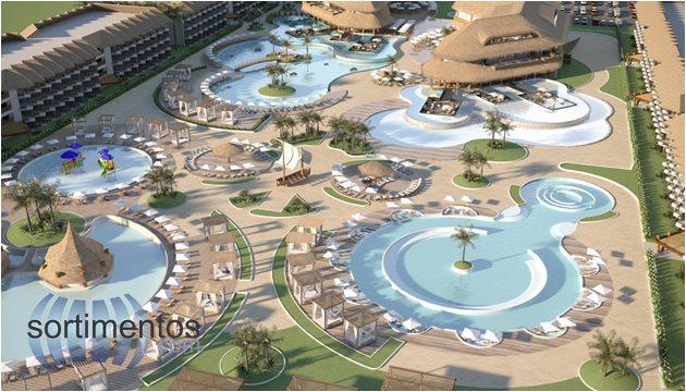 Acquaventura Parque Aquático e Resort na Praia de Carneiros em Pernambuco
