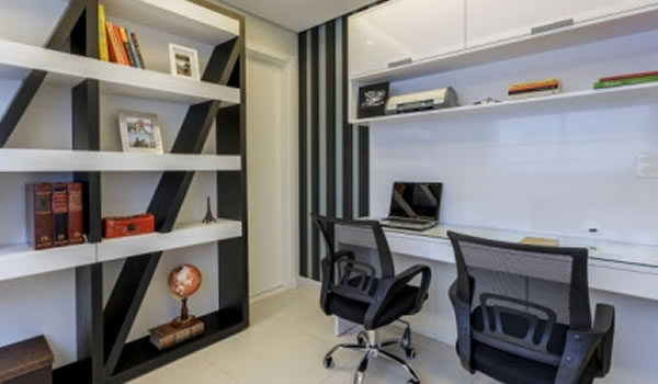 Arquitetura e Decoração – Home Office – Foto Osvaldo Castro