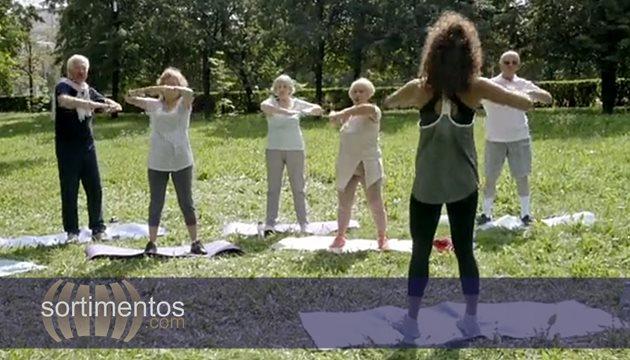 Idosos Atividade Física - Sortimentos.com Saúde - Foto : PressMaster