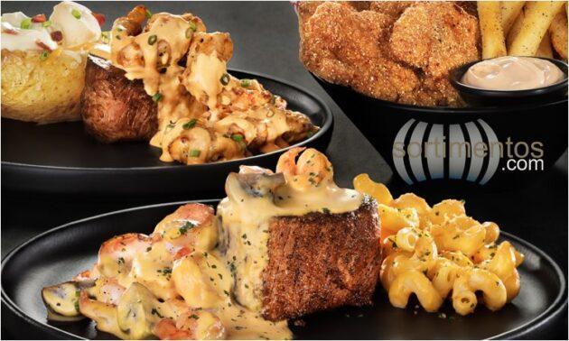 OutBack SteakHouse - New Gold Steaks - Tendência Surf'N'Turf - Sortimentos.com