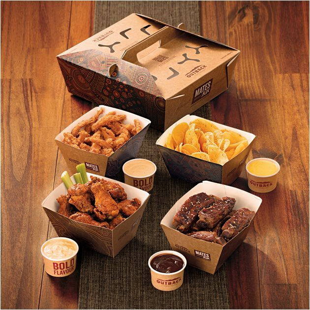 OutBack SteakHouse - Delivery Mates Box - Sortimentos.com