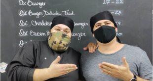 Flávio Richieri e Aldo Neto - Ox Burger -hamburgueria artesanal - Sortimentos.com