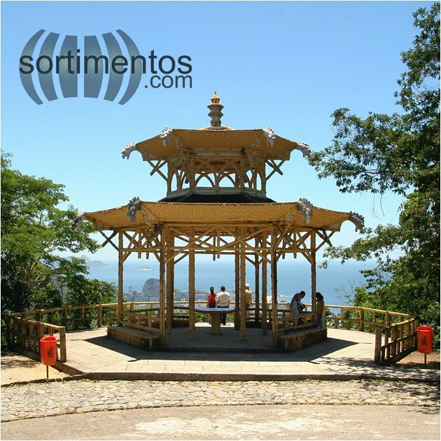 Rio de Janeiro pontos turísticos : mirante Vista Chinesa na Floresta da Tijuca - Sortimentos.com
