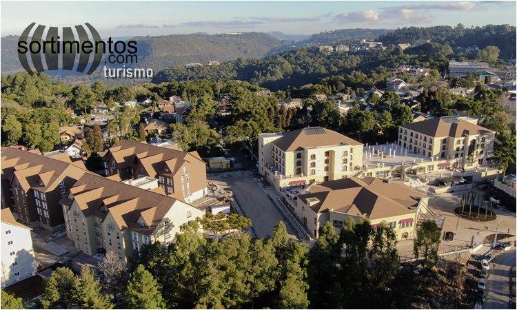 Vista de Gramado do Resort Buona Vitta - sortimentos.com