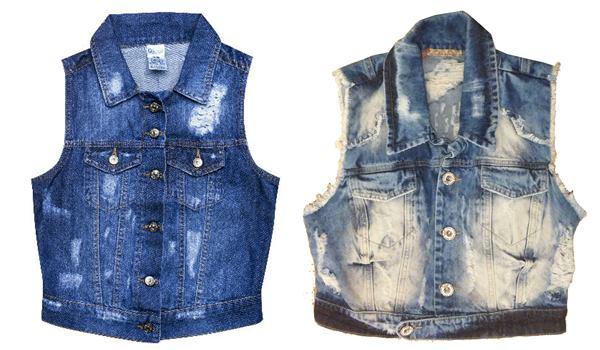 Dicas de Moda Feminina : como usar colete jeans - Sortimentos.com Looks da Moda
